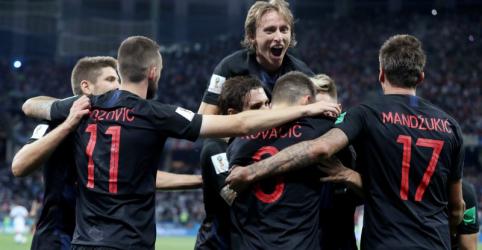 Croácia goleia por 3 x 0 e deixa Argentina à beira de eliminação