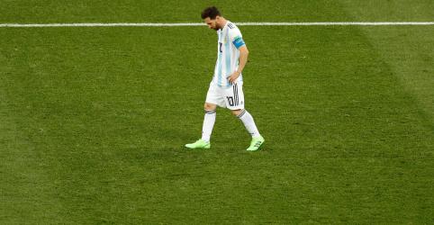 Placeholder - loading - Messi é assombrado por mau desempenho e risco de eliminação precoce na Copa do Mundo