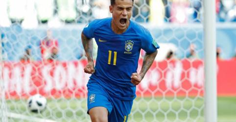 Coutinho e Neymar marcam nos acréscimos e garantem vitória do Brasil contra Costa Rica