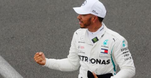 Hamilton larga na pole na França, Vettel sairá em terceiro
