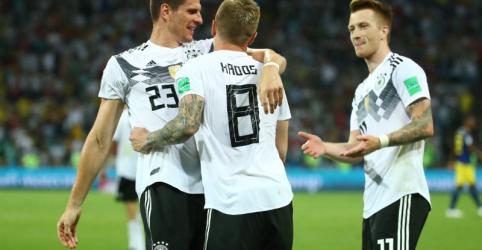 Placeholder - loading - Imagem da notícia Eufórica com vitória, Alemanha fará mais mudanças contra Coreia do Sul