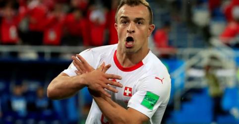 Ministros suíços apoiam comemorações políticas de Xhaka e Shaquiri em jogo contra Sérvia