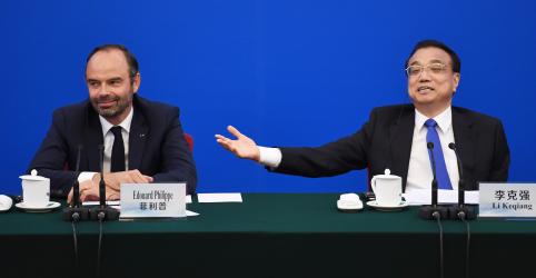 China e França concordam em expandir comércio e UE levanta 'questões difíceis'