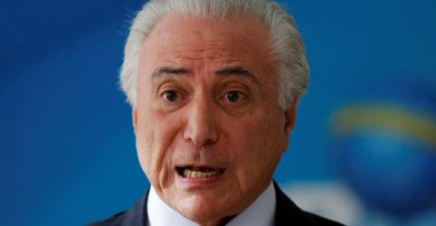 Placeholder - loading - Imagem da notícia Temer cobrará vice-presidente dos EUA sobre situação de imigrantes brasileiros, diz embaixador