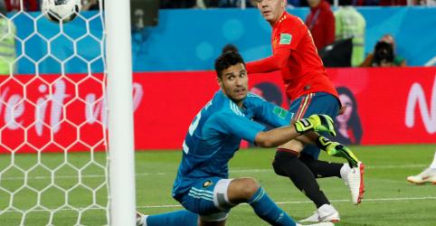 Placeholder - loading - Espanha busca empate com Marrocos e enfrentará Rússia nas oitavas de final