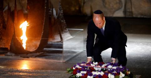 Placeholder - loading - Imagem da notícia Príncipe William presta homenagem a vítimas do Holocausto e encontra Netanyahu em Jerusalém