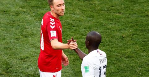 França lidera grupo e Dinamarca também avança após empate em 0 x 0
