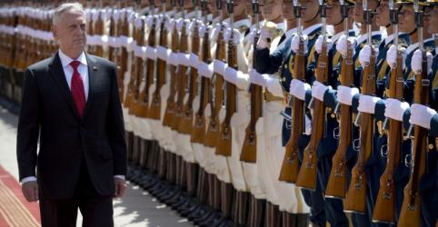 Placeholder - loading - Xi diz a secretário de Defesa dos EUA que China não cederá 'um centímetro' de seu território