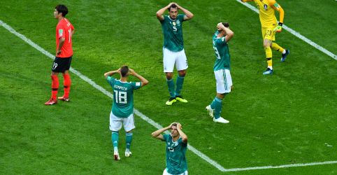 Campeã mundial Alemanha é eliminada na primeira fase da Copa do Mundo da Rússia