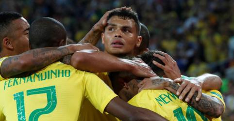 Placeholder - loading - Brasil vence Sérvia por 2 x 0 e avança em 1º do grupo para enfrentar México nas oitavas de final