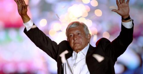 Placeholder - loading - Imagem da notícia Líder das pesquisas, candidato de esquerda López Obrador promete acabar com corrupção no México