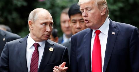 Trump e Putin se reunirão em Helsinque no dia 16 de julho
