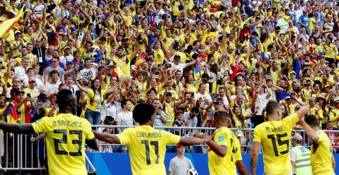 Colômbia se classifica para oitavas com vitória de 1 x 0; Senegal está eliminado