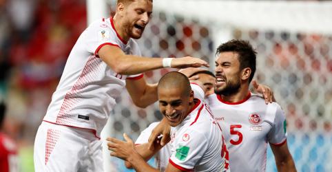 Tunísia conquista primeira vitória na Copa do Mundo em 40 anos