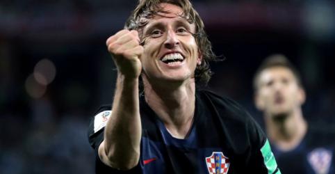 Placeholder - loading - Imagem da notícia 'Mago' Modric vive seu sonho pela Croácia