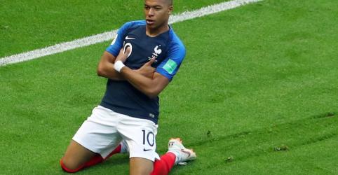 França vence por 4 x 3 com dois gols de Mbappé e elimina a Argentina