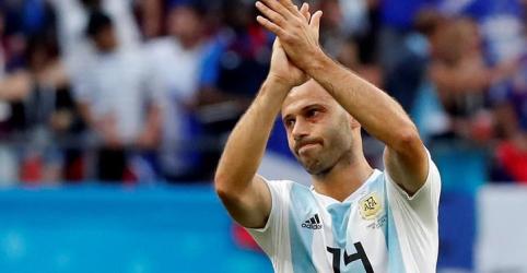 Placeholder - loading - Mascherano se aposenta da seleção argentina após derrota para França