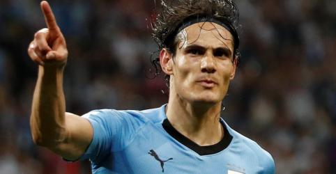 Cavani brilha e garante vitória do Uruguai por 2 x 1 sobre Portugal