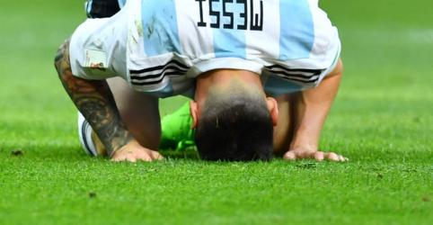 Placeholder - loading - Imagem da notícia Messi fracassa em provável última chance com a seleção argentina