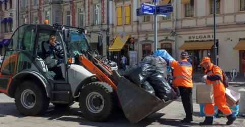 Moscou limpa restos de festa após classificação surpreendente da Rússia na Copa