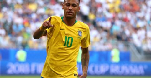 Brasil vence México com gols de Neymar e Firmino e vai às quartas de final