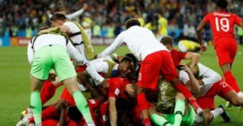 Inglaterra bate Colômbia nos pênaltis e vai às quartas de final contra Suécia