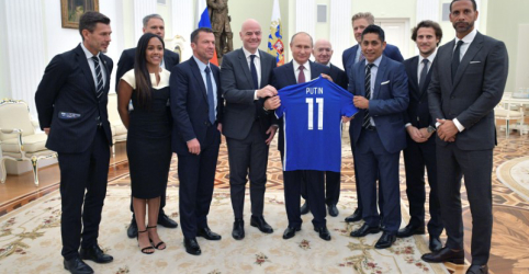 Placeholder - loading - Imagem da notícia Putin diz que Copa do Mundo acabou com estereótipos sobre a Rússia