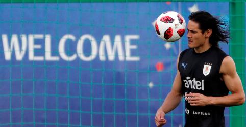 Placeholder - loading - Cavani fica fora de time titular do Uruguai contra França; Stuani será o substituto
