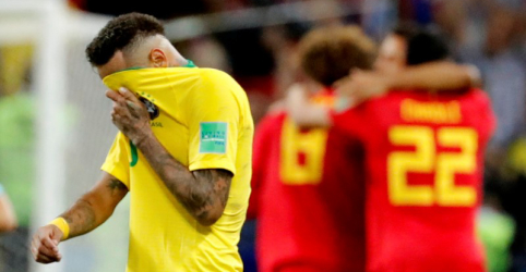 Brasil é eliminado da Copa do Mundo com derrota por 2 x 1 para Bélgica
