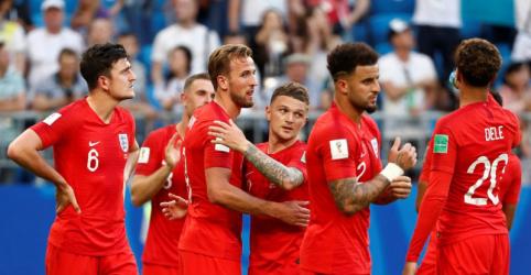 Placeholder - loading - Inglaterra bate Suécia por 2 x 0 e vai às semifinais da Copa do Mundo
