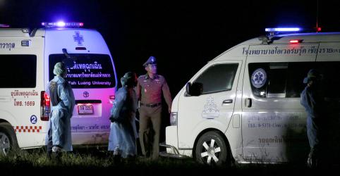 Placeholder - loading - Saúde de 5 últimos presos em caverna na Tailândia 'ainda é boa', diz chefe de resgate