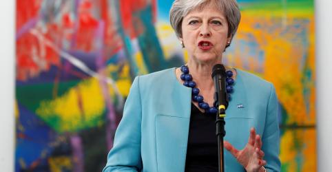Placeholder - loading - Imagem da notícia Reino Unido não vai fazer novo referendo sobre Brexit, diz premiê