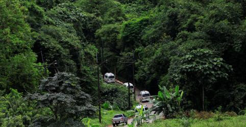 Equipes de resgate retiram 11ª pessoa de caverna na Tailândia em 3º dia de operação