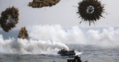 Coreia do Sul suspende exercícios militares com EUA para facilitar diálogo com Pyongyang