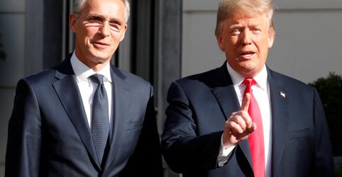 Em reunião da Otan, Trump acusa Alemanha de estar 'refém' da Rússia