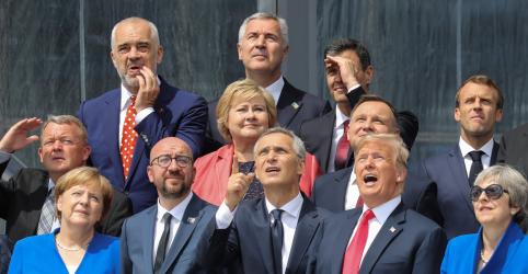 Placeholder - loading - Imagem da notícia Trump critica Alemanha e cobra aliados na Otan a dobrarem gastos com defesa