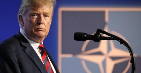 Placeholder - loading - Imagem da notícia Trump comemora ter forçado aliados da Otan a elevar gastos com defesa