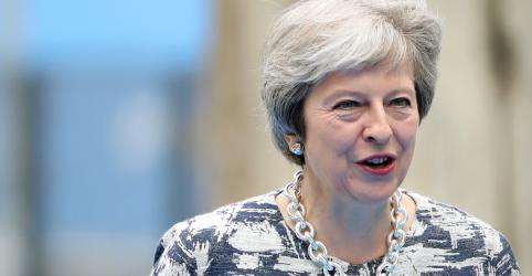 Placeholder - loading - Imagem da notícia May delineia visão de futuro pós-Brexit com ênfase em área de livre comércio