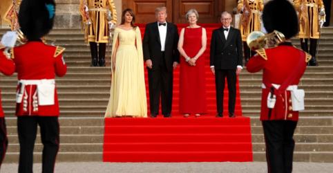 """May elogia """"querido amigo"""" EUA e Trump questiona planos da premiê para o Brexit"""