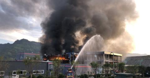 Explosão em indústria química na China deixa 19 mortos