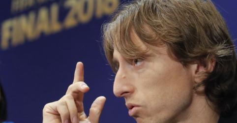 Placeholder - loading - Imagem da notícia Baixinho Modric diz que determinação e confiança o fizeram crescer no futebol