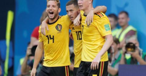 Bélgica fica com 3º lugar da Copa do Mundo ao vencer Inglaterra por 2 x 0