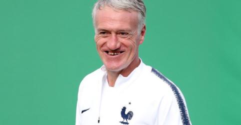 """Placeholder - loading - Imagem da notícia Deschamps usa própria versão dos """"três C"""" para sucesso na final da Copa"""