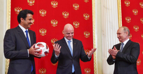 Placeholder - loading - Imagem da notícia Rússia passa bastão da Copa do Mundo para o Catar orgulhosa de sucesso