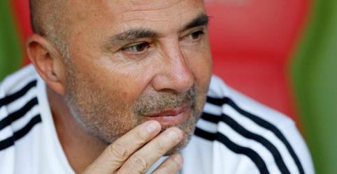 Técnico Sampaoli acerta saída da seleção argentina