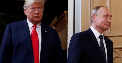 Putin diz a Trump: é hora de conversar sobre relações entre EUA e Rússia