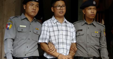 Repórter da Reuters faz 1º relato detalhado a tribunal sobre prisão em Mianmar