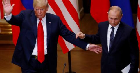 DESTAQUES-Trump e Putin falam de busca de cooperação, eleições e Síria em cúpula