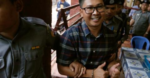 Interrogatório de polícia em Mianmar focou em matéria sobre rohingya diz repórter da Reuters