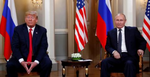 Placeholder - loading - Imagem da notícia Trump diz que 'grandes resultados virão' de cúpula com Putin